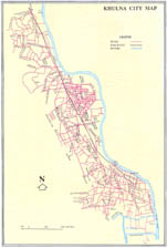 Khulna City Map. Click for enlarge